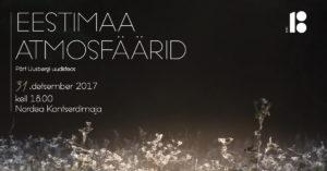 Eestimaa Atmosfäärid plakat