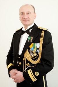 Piirivalve major Arvi Miido (erus). Foto autor Peeter Sirge (2013)