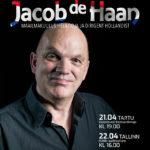 Jacob de Haani kontsertide plakat