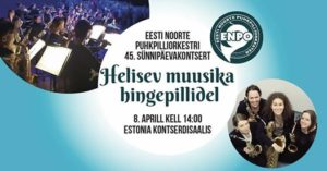 ENPO 45 kontserdi kuulutus